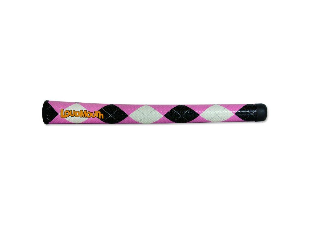 tempiron pink black argyle