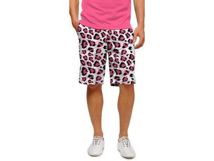 pinkleopard men short web